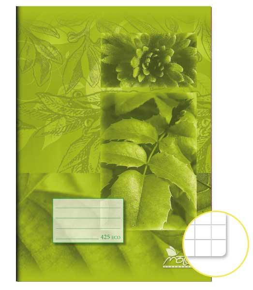 Zošit 425 Economy • 20 listový • štvorčekovaný 5×5 mm • SKALNIČKY