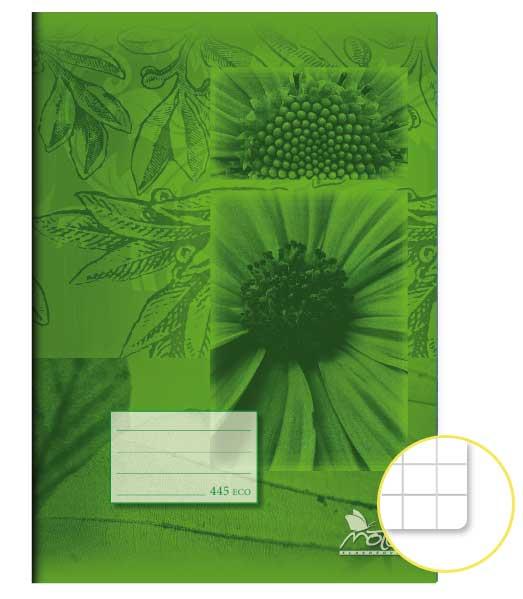 Zošit 445 Economy • 40 listový • štvorčekovaný 5×5 mm • SKALNIČKY
