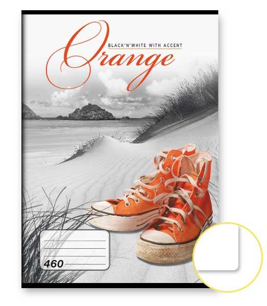 Zošit 460 • 60 listový • nelinkovaný • Orange