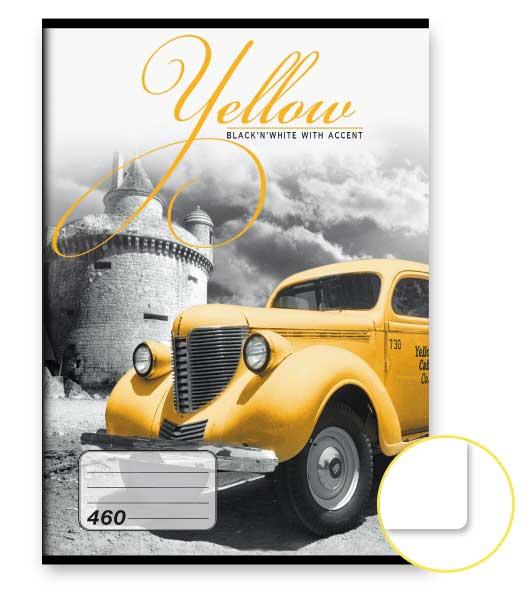 Zošit 460 • 60 listový • nelinkovaný • Yellow