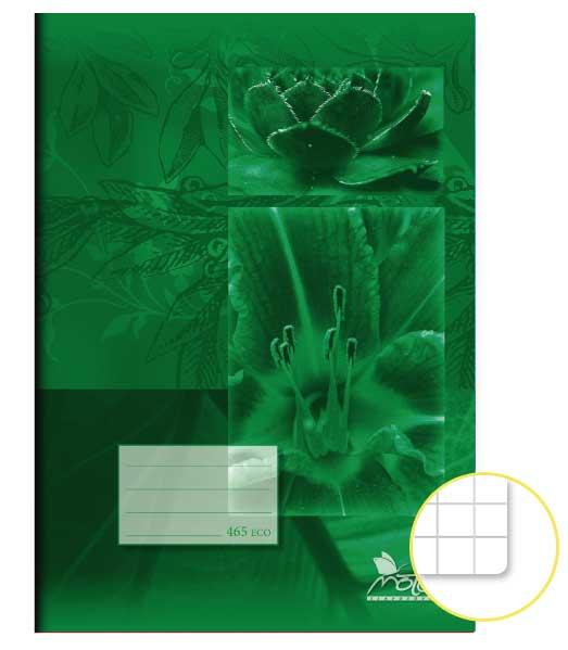 Zošit 465 Economy • 60 listový • štvorčekovaný 5×5 mm • SKALNIČKY