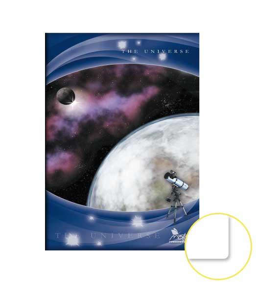 Zošit 580 • 80 listový • nelinkovaný • Space