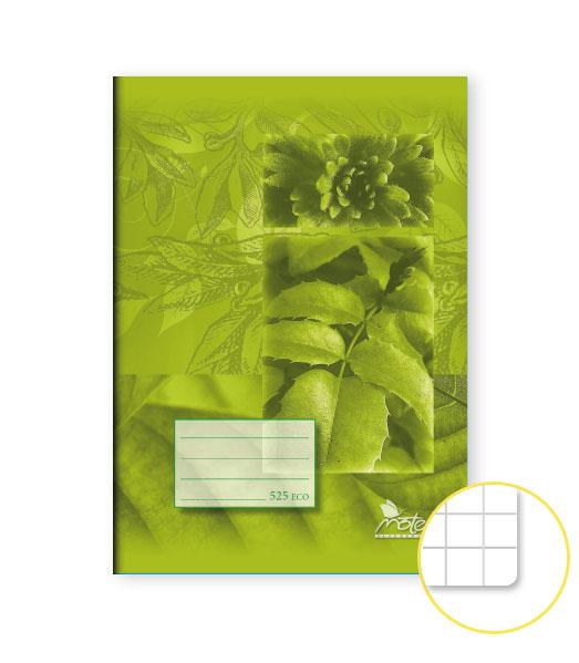 Zošit 525 Economy • 20 listový • štvorčekovaný 5×5 mm • SKALNIČKY