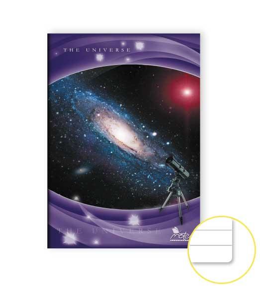 Zošit 584 • 80 listový • linkovaný 9 mm • Space