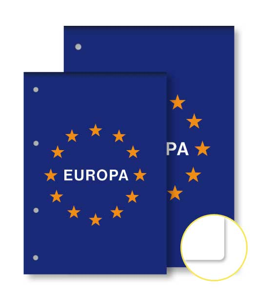 Poznámkový blok • 50 listový • nelinkovaný • EURÓPA