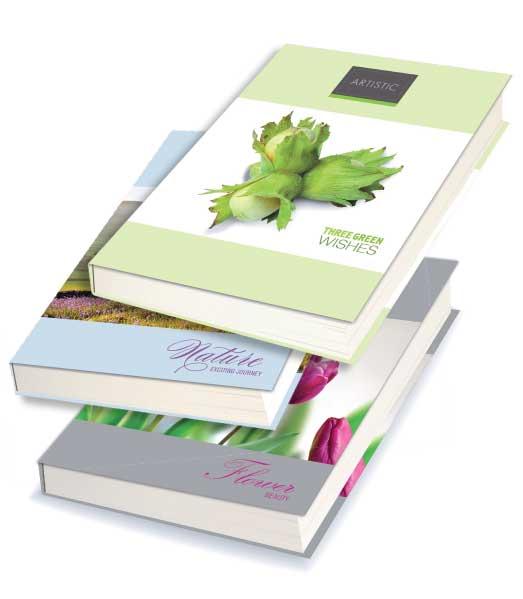 Záznamová kniha • 96 listová • linkovaná 8 mm • MIX DIZAJNOV