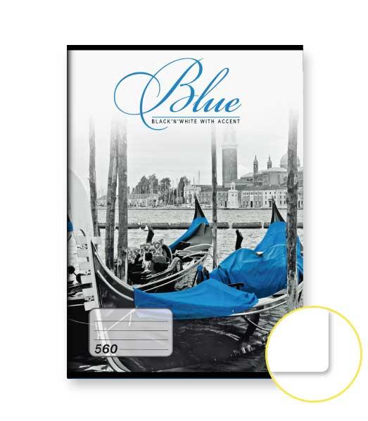 Zošit 560 • 60 listový • nelinkovaný • Blue