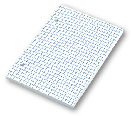 Náhradná náplň NN A6/1 • 100 listov • štvorčekovaná